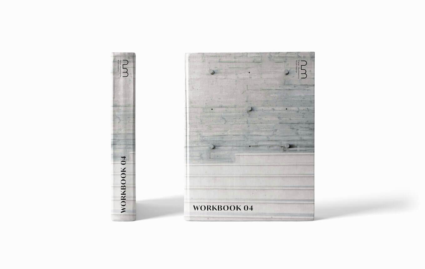 Buch Cover Design für Schweizer Architekturbüro