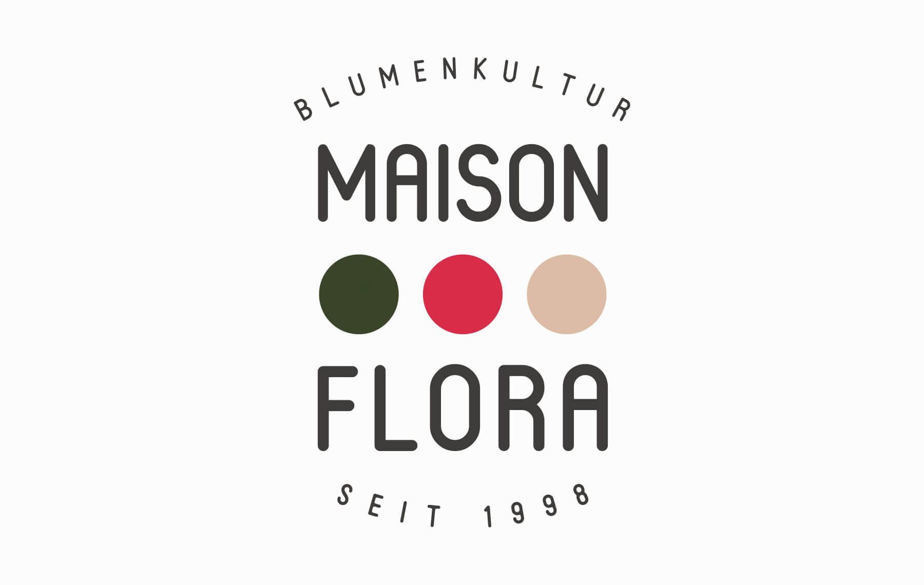 Design Process Logo Florist Shop Step 4