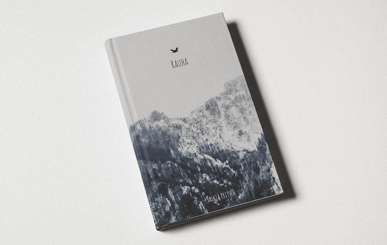 Buch Design Schweizer Autor Rückseite