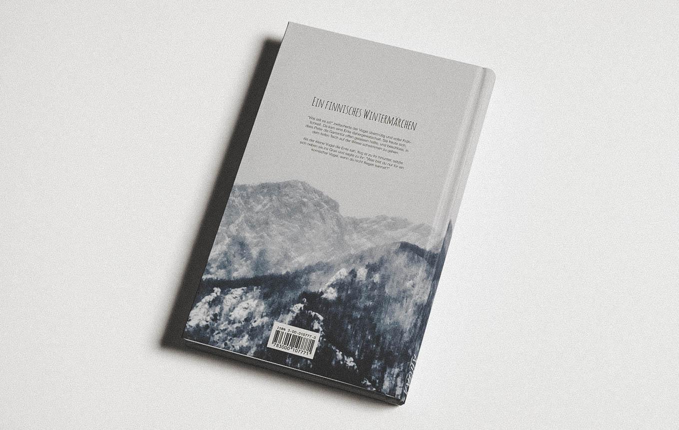 Buch Design Schweizer Autor Vorderseite