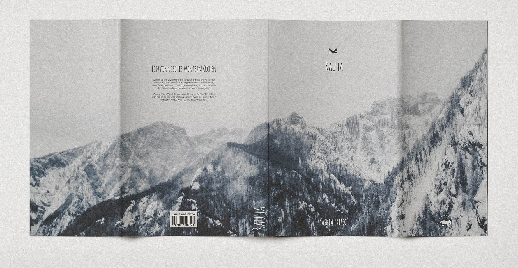 Design Buchumschlag für Schweizer Buch