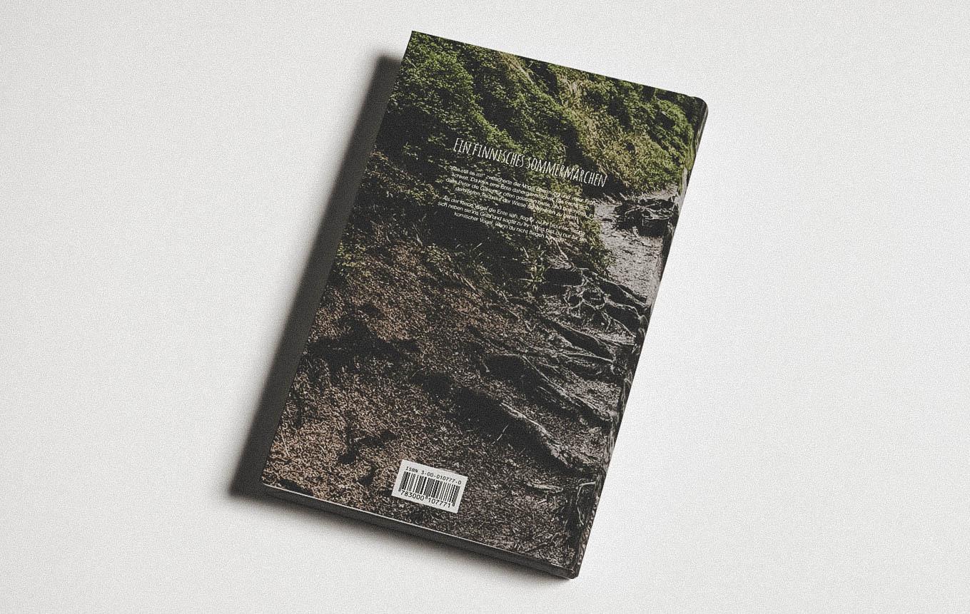 Vorderseite Umschlag für Buch von Schweizer Autorin