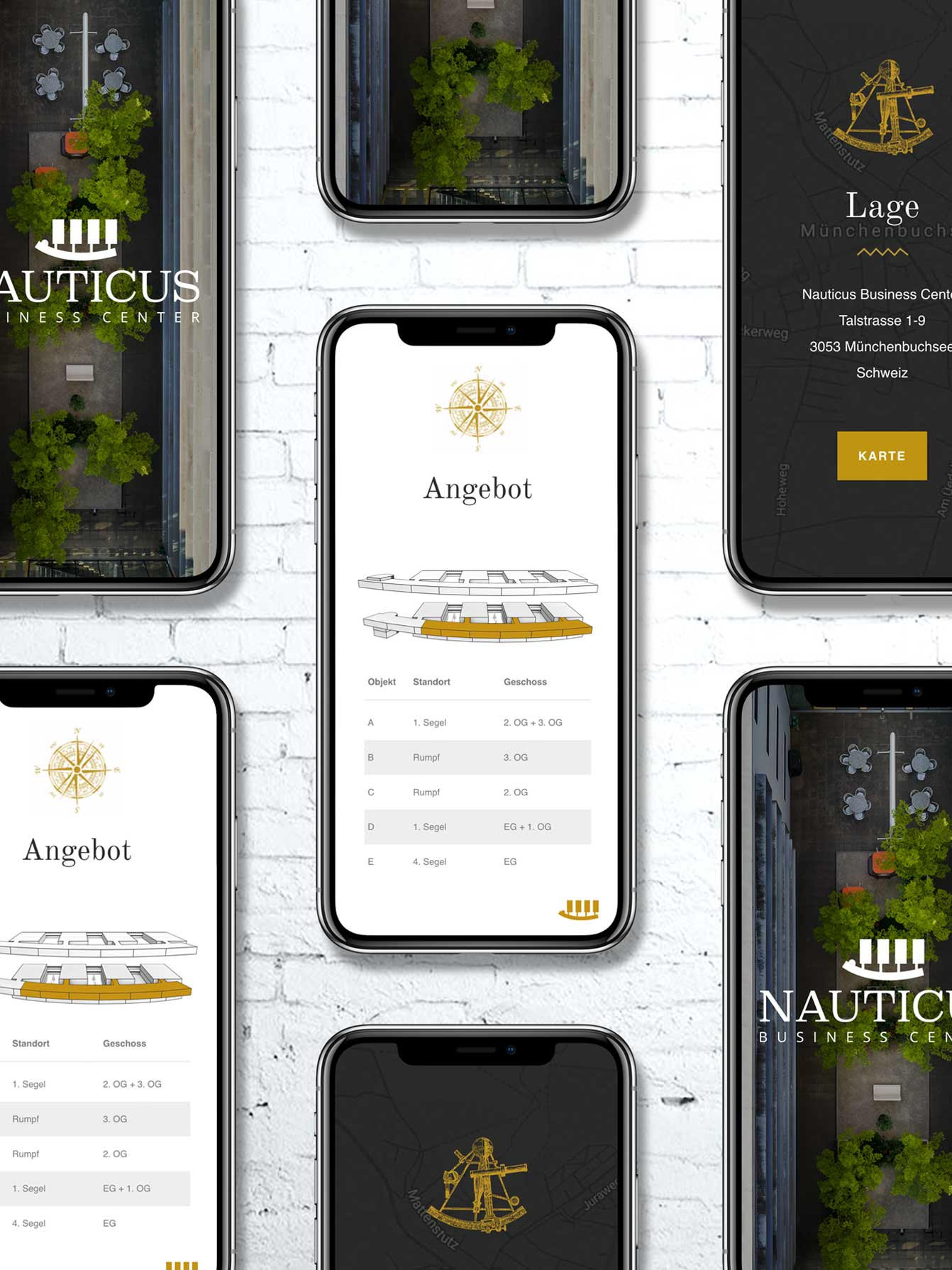 Responsive web design for real estate sales in Switzerland