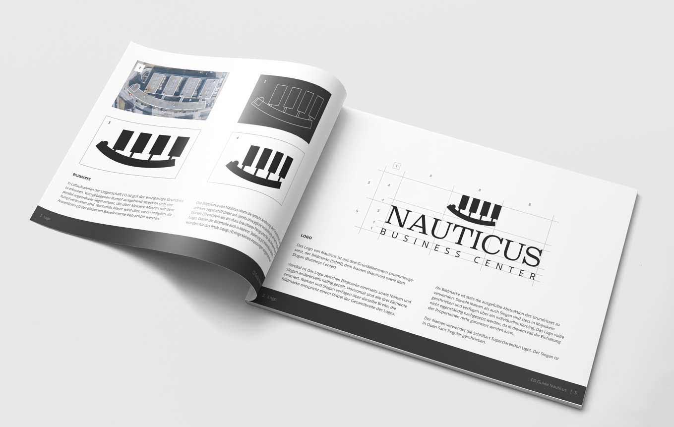Design Guide für Immobilienvermarktung Firma Schweiz