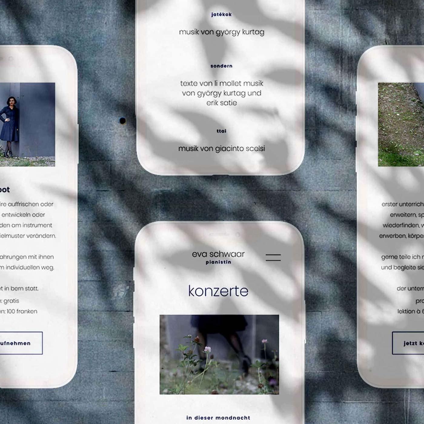 Webdesign Musician Switzerland