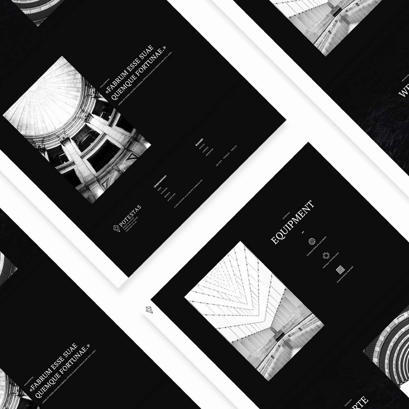 Web design real estate company Switzerland