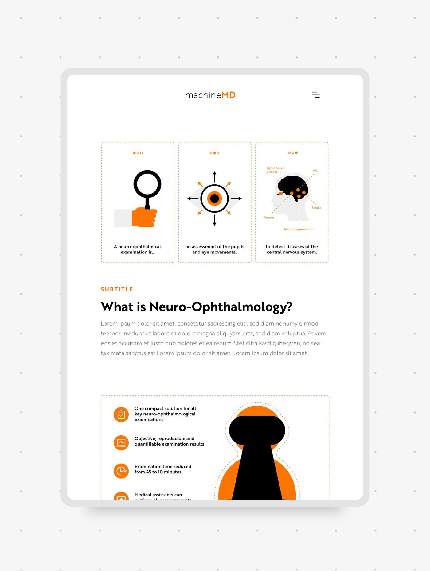 Webdesign mit Illustrationen für Webseite von Start-up Schweiz