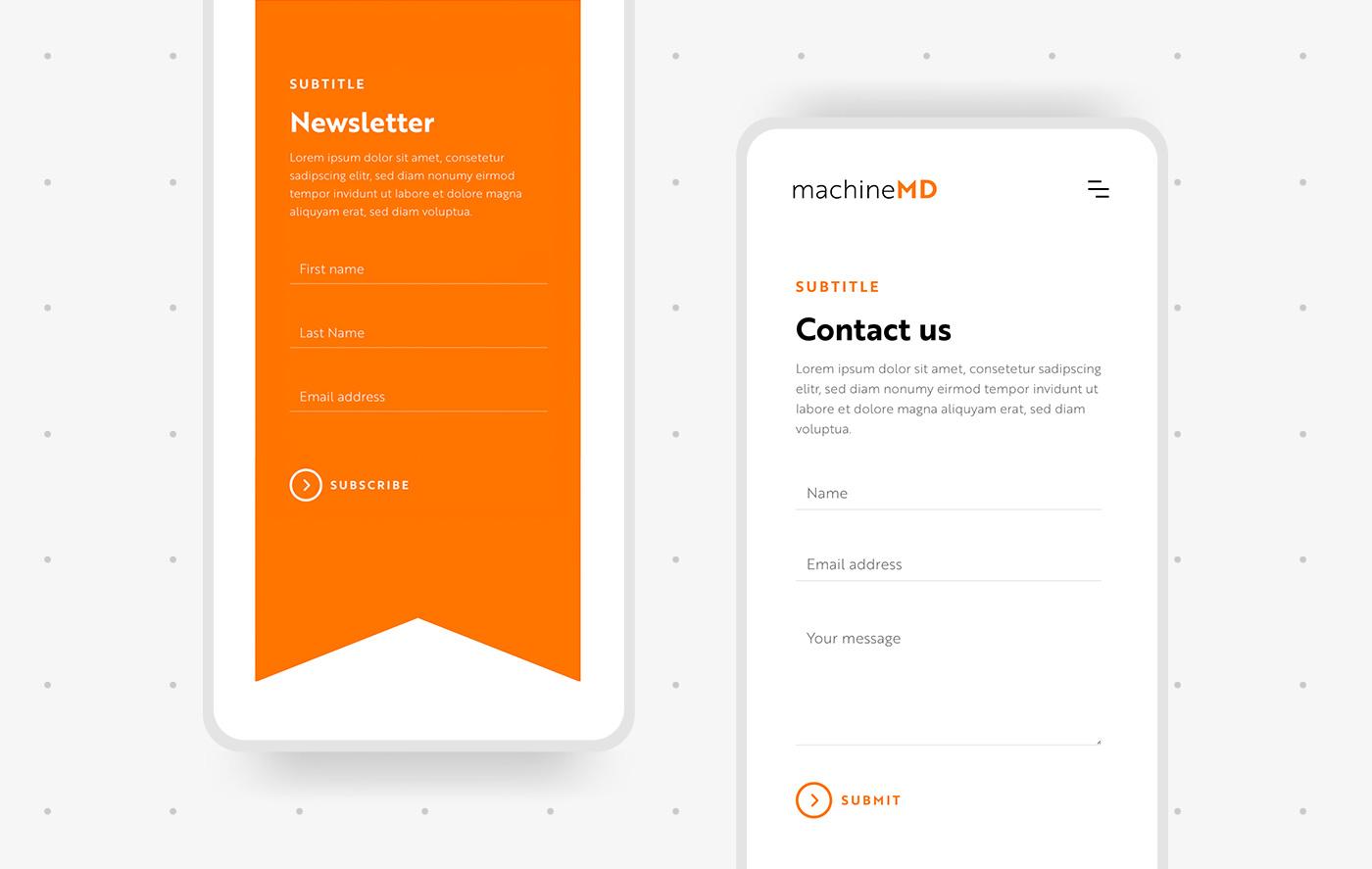 Mobile Webdesign Start-up Schweiz