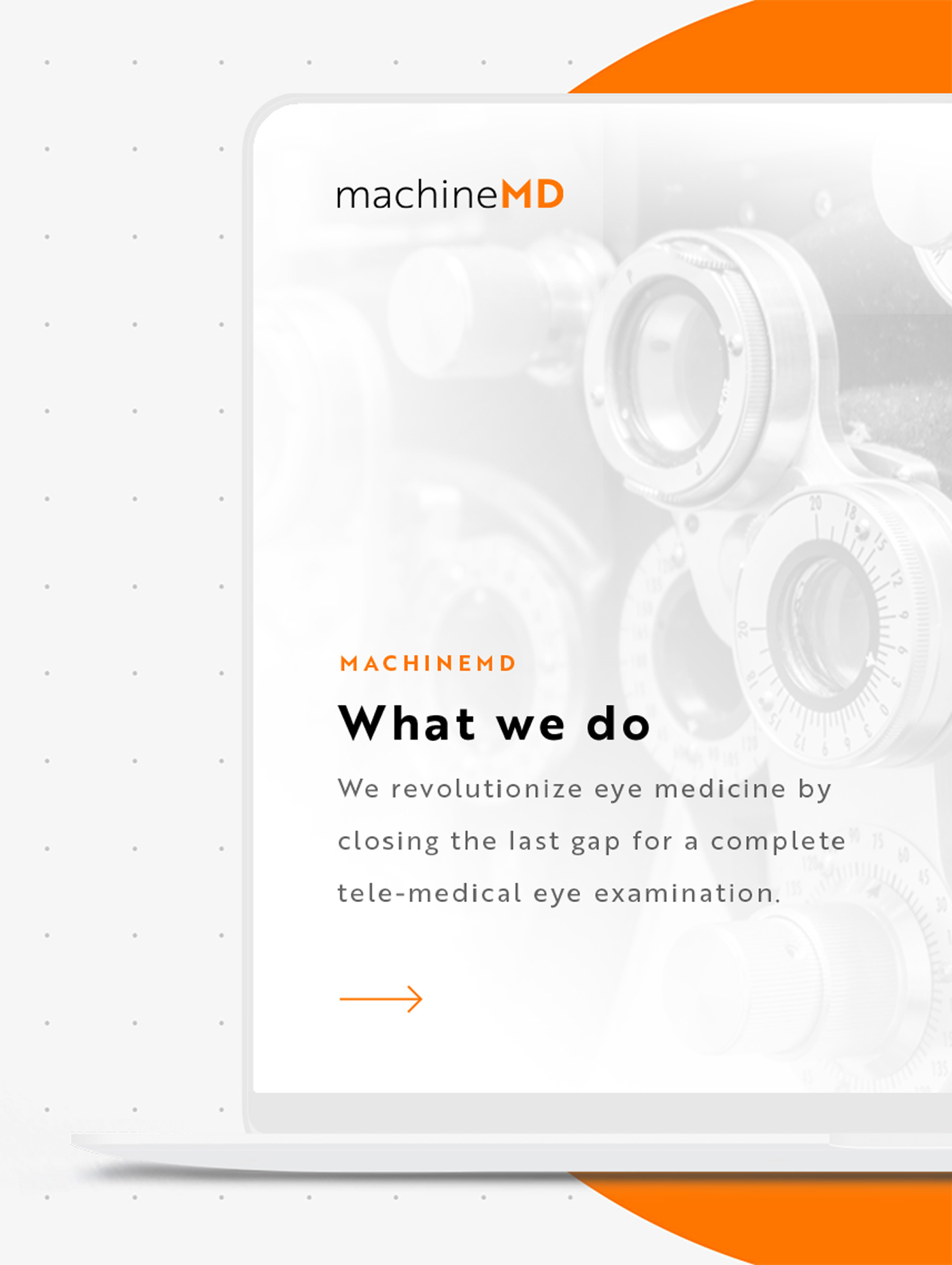 Webdesign Schweizer Medtech-Start-up