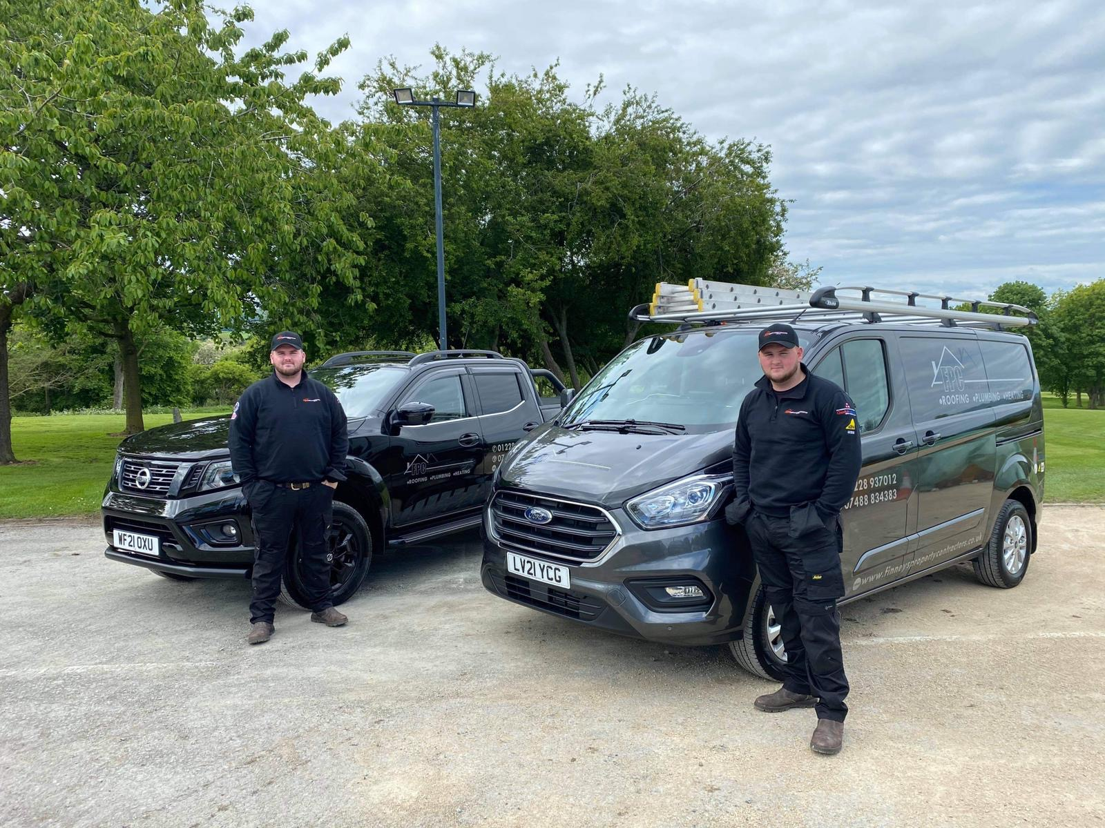 Finneys Property Contractors - Directors - Shaun Finney and Shane Finney