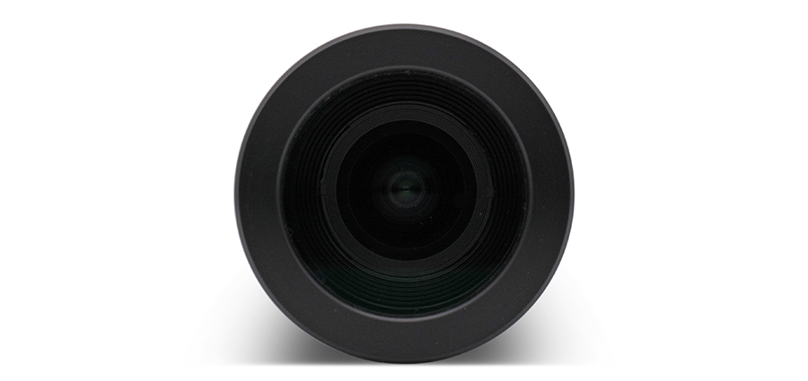 Camera housing front