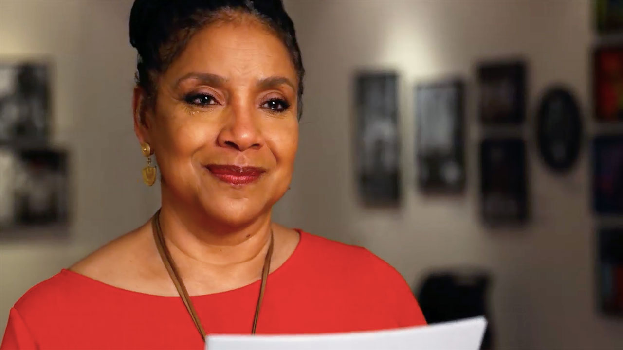 "Phylicia Rashad Recites ""Lift Every Voice and Sing"""