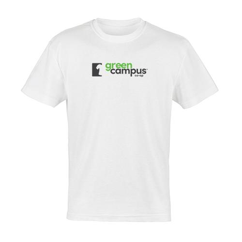GCC White Stacked Logo