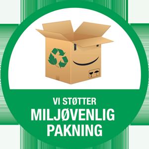 miljøvenligpakning logo