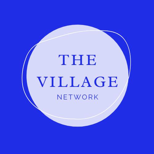The village network logo