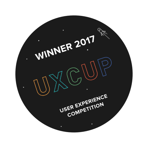 UX Cup winning project - 2017