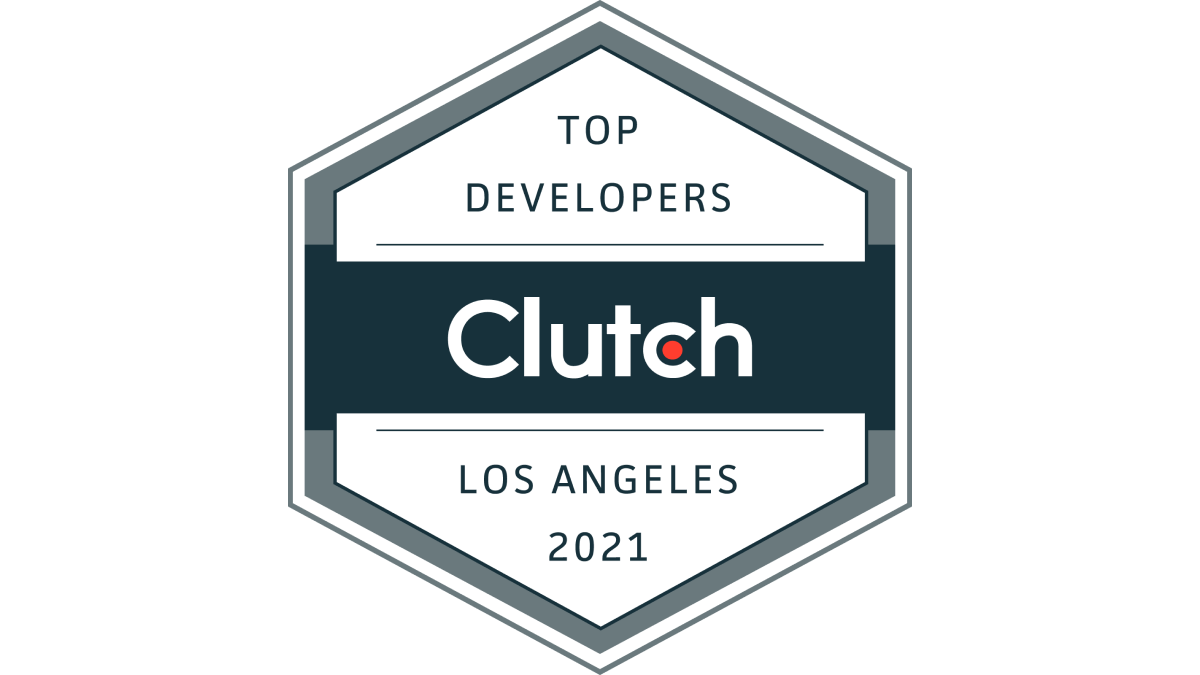 Invemo Labeled by Clutch Among Los Angeles' Top App Developers 2021