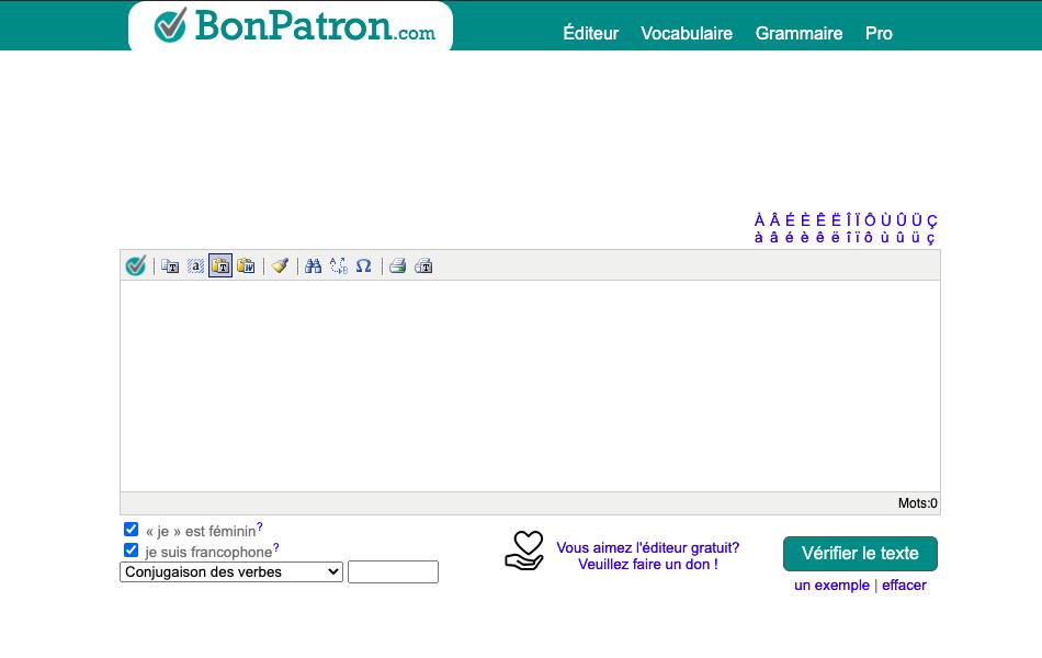 capture d'écran de Bon Patron