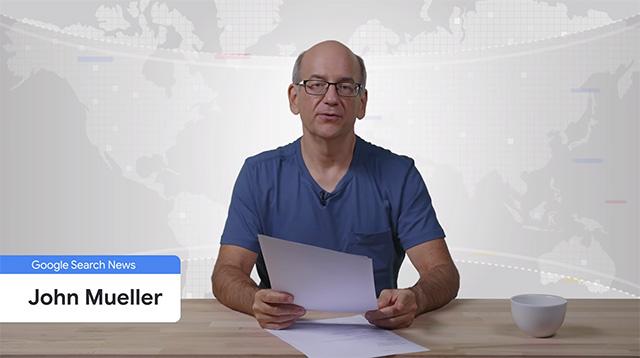 John Mueller, Webmaster Trends Analyst chez Google, s'exprime au sujet des fautes d'orthographe sur Google.