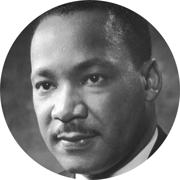 MLK Jr. portrait