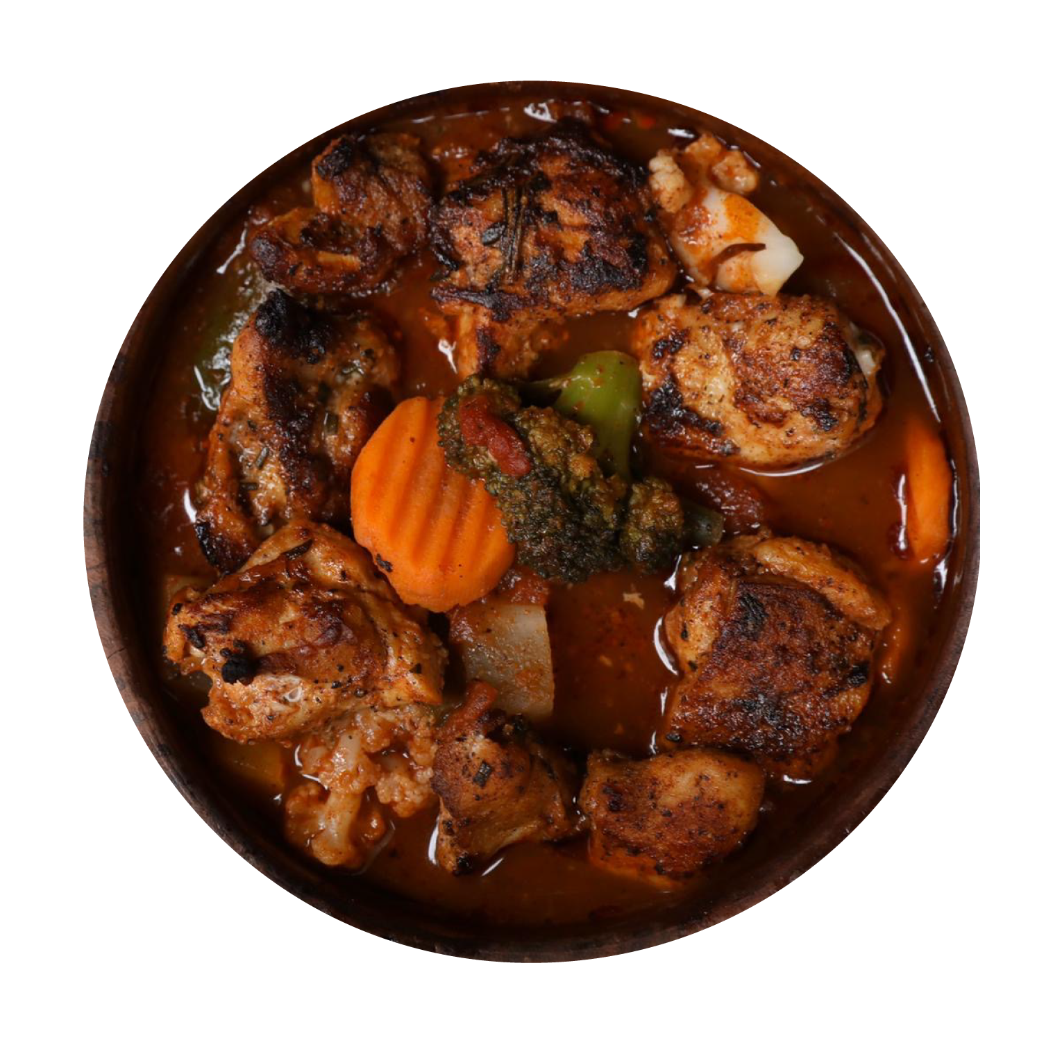 Vegetable Tagine with Chicken