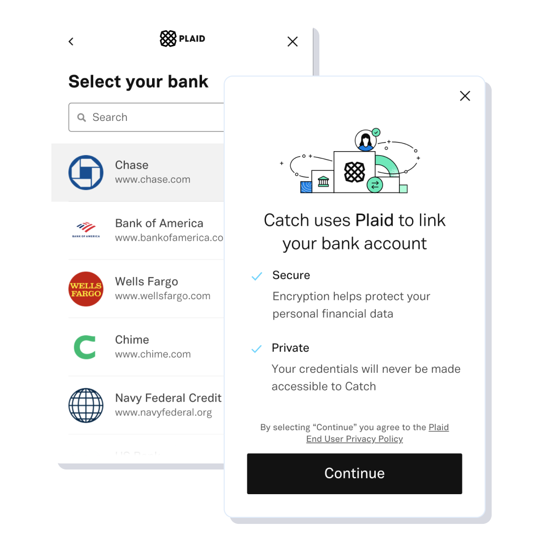 Plaid bank linking