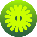 Rooted badge logo