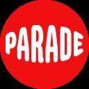 Parade badge logo