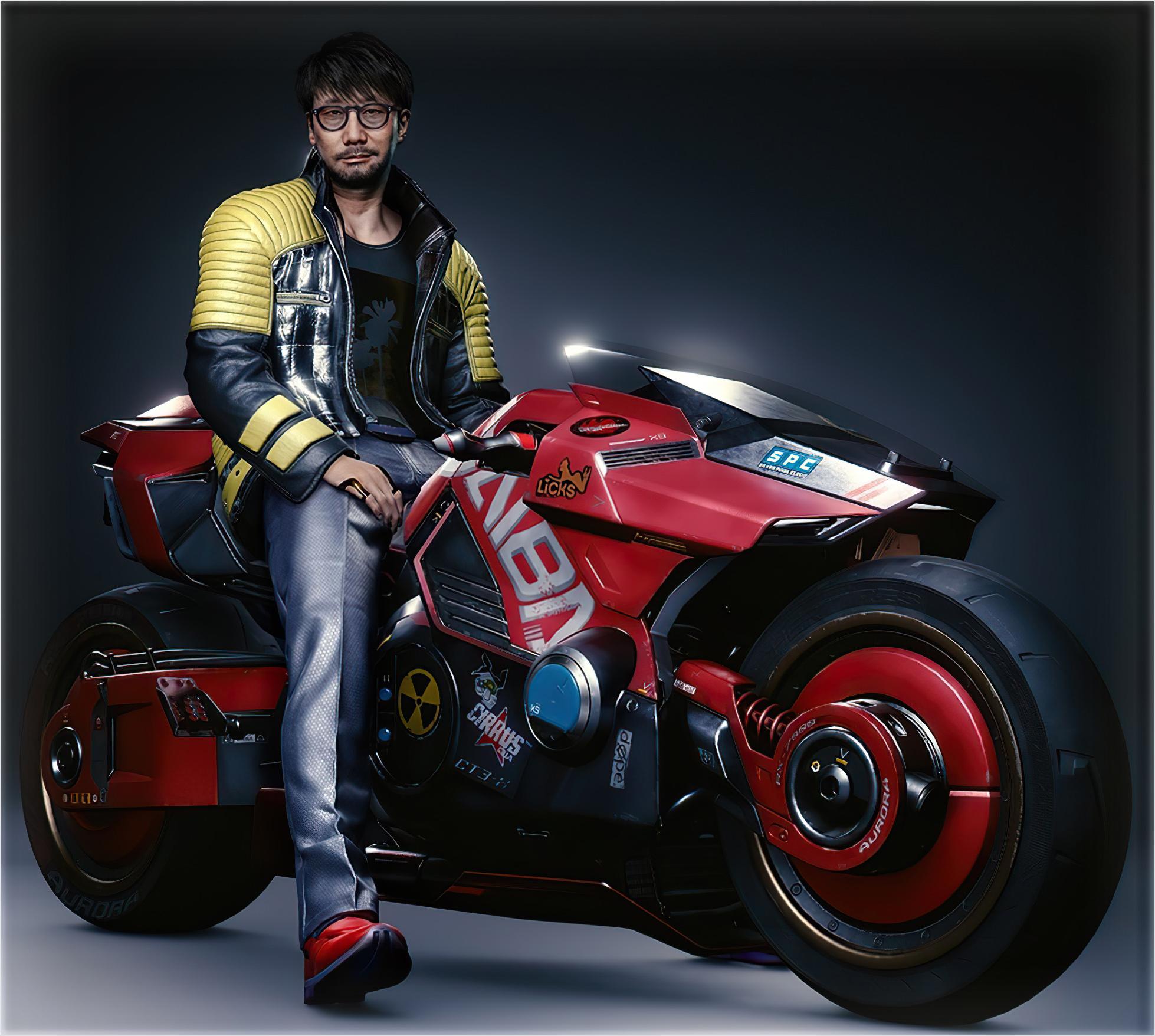 Hideo Kojima Cyberpunk 2077 1