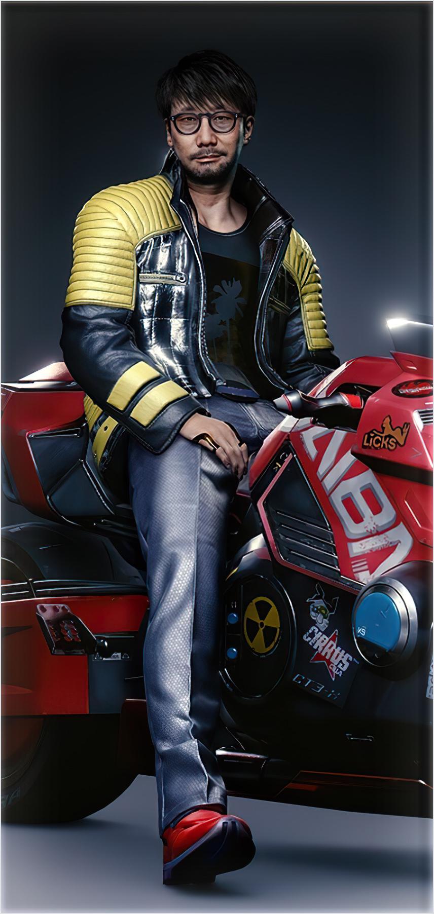 Hideo Kojima Cyberpunk 2077 3
