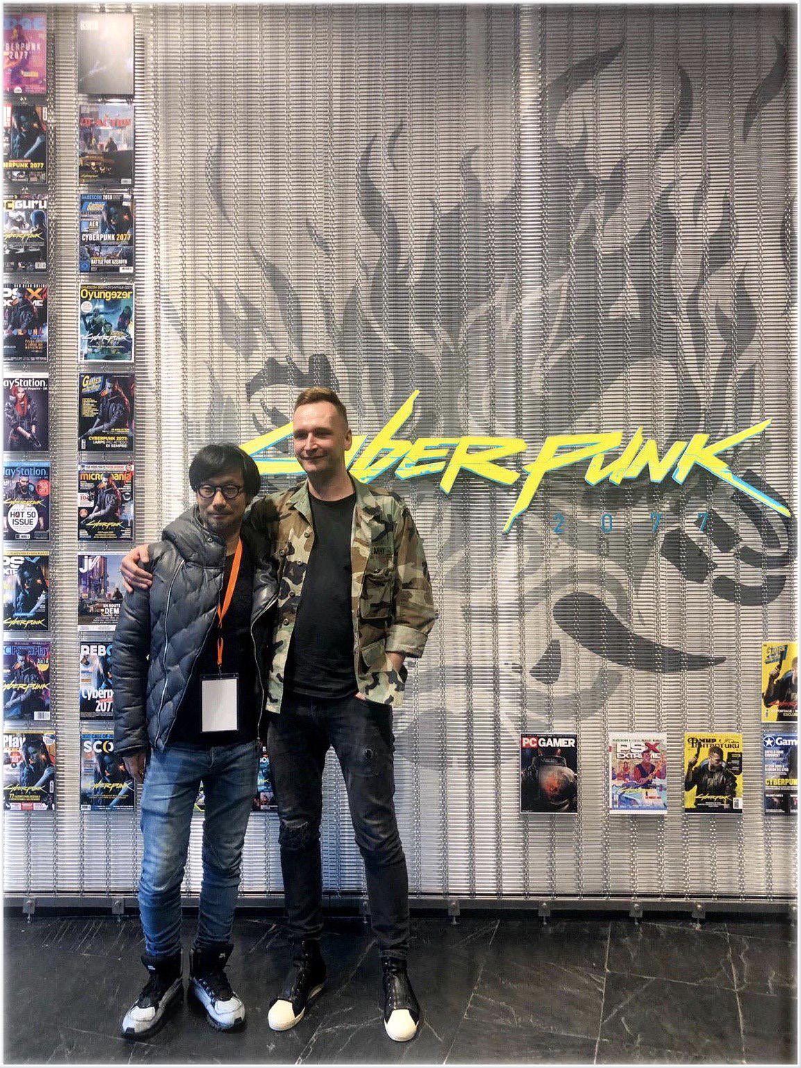 Hideo Kojima Cyberpunk 2077 5
