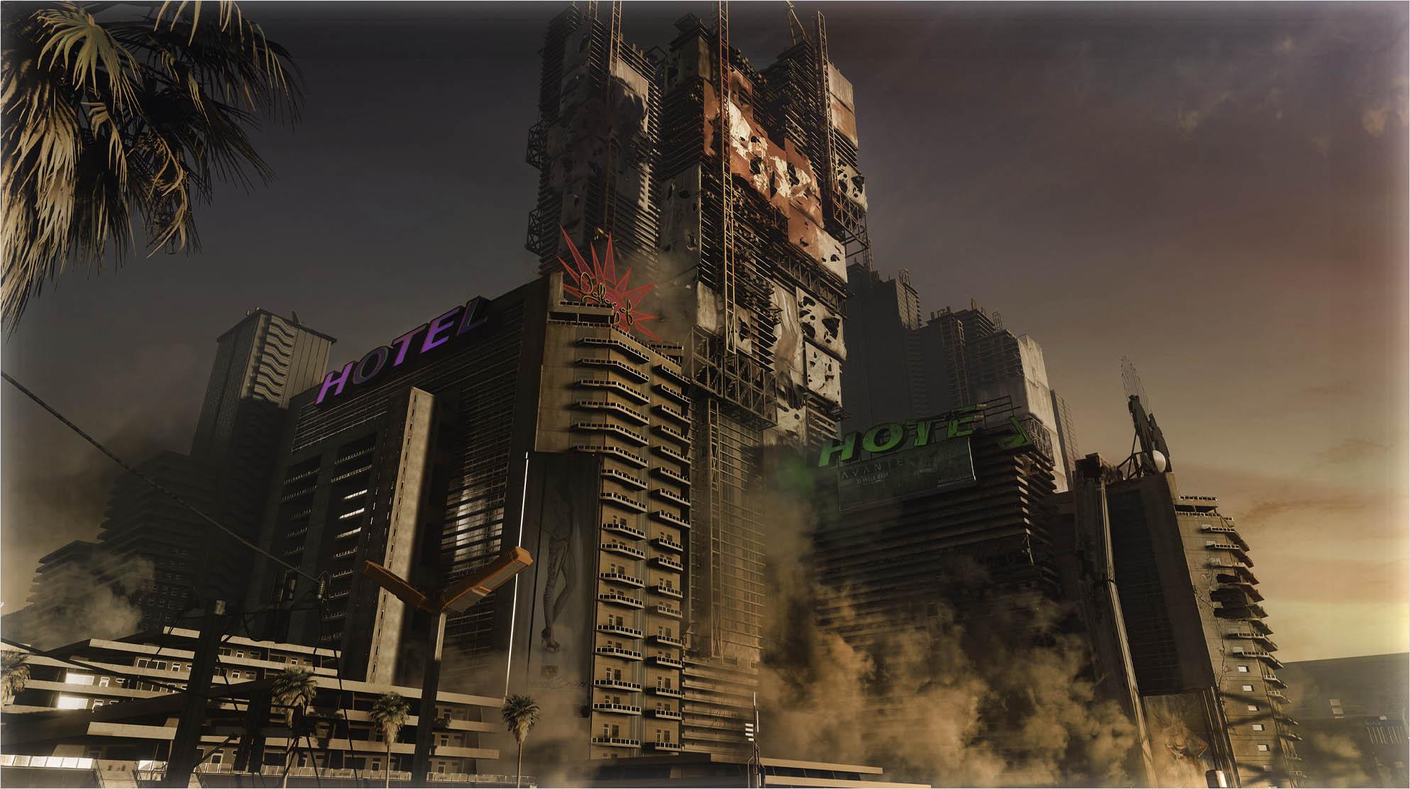 Pacifica Combat Zone Cyberpunk 2077