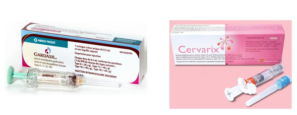 Các loại vắc xin ngừa ung thư cổ tử cung