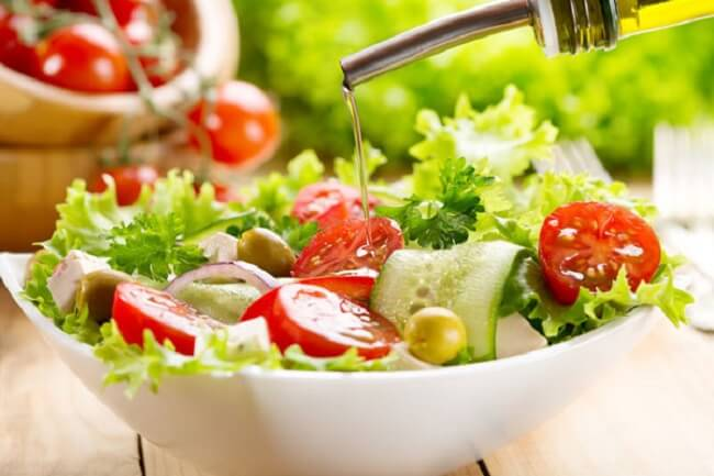 Ăn chay thực dưỡng - Salad hoa quả