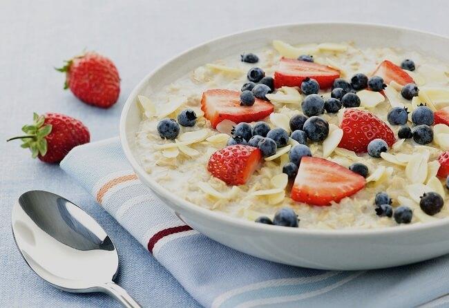 Ăn chay thực dưỡng - Súp yến mạch
