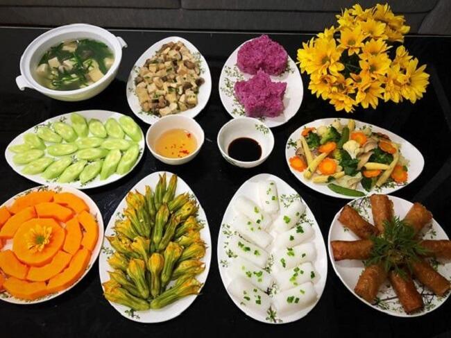 Ẩm thực chay không chỉ thơm ngon mà còn vô cùng đa dạng
