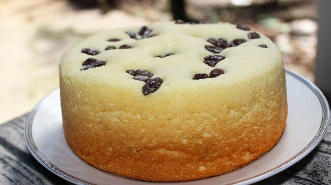 Cách làm bánh bông lan chay cho gia đình