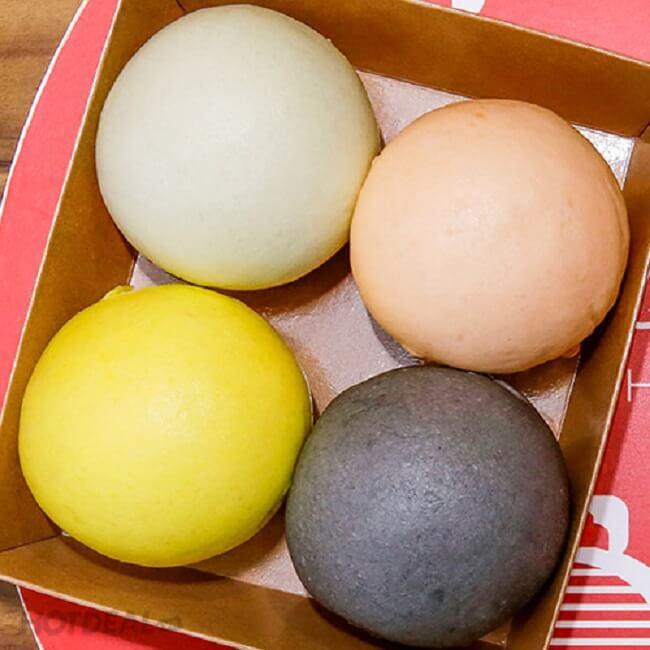 Cách làm bánh bao chay nhiều màu ngon không khó