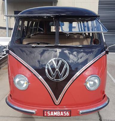 VW Kombi Samba 56