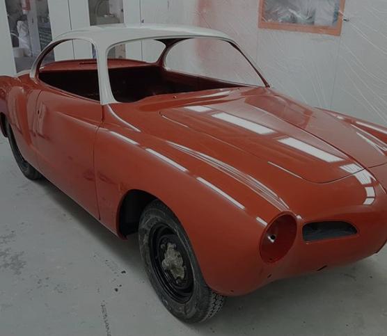 VW Kamann Ghia Classic Car Restoration