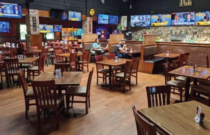 Hooley Montrose Center Dining Room.