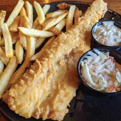 Fish N Chips Dinner