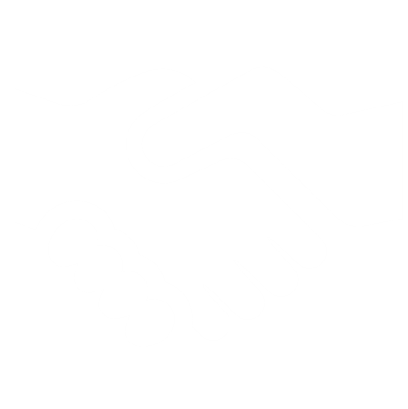 handshake white icon