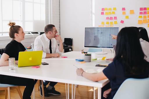 Startup Advisor Man and Woman