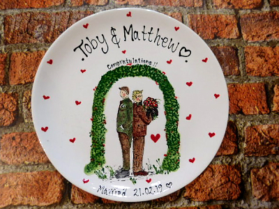 Wedding Plate Gift