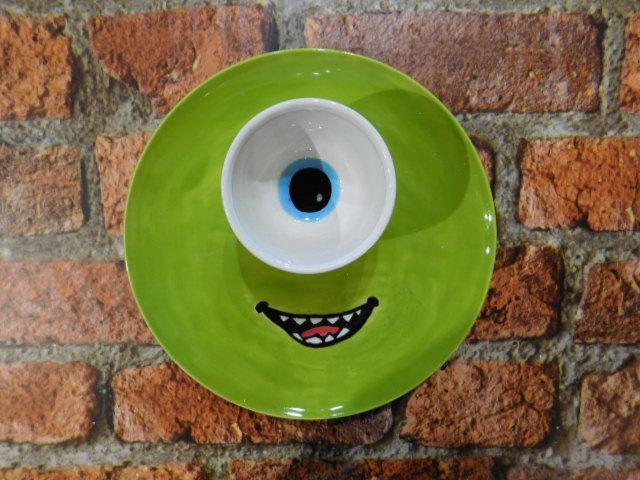 Monsters Inc Ceramic Plate