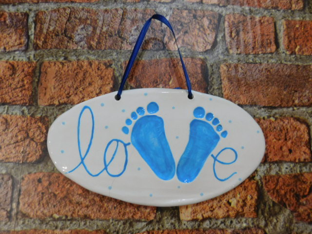 Imprint Kids Hand and Feet Blue