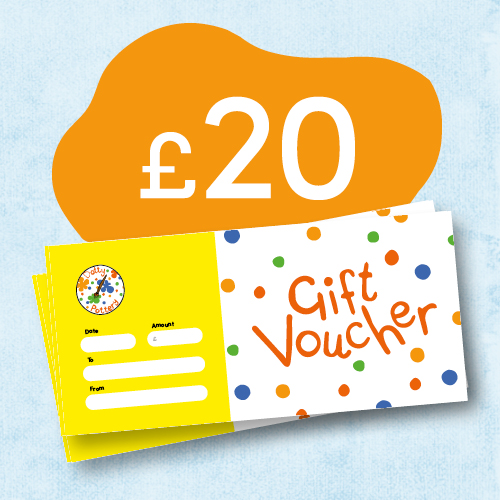 Dotty Pottery Gift Voucher £20