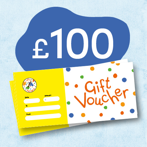 Dotty Pottery Gift Voucher £100