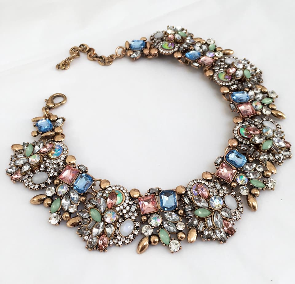 complex jewel necklace